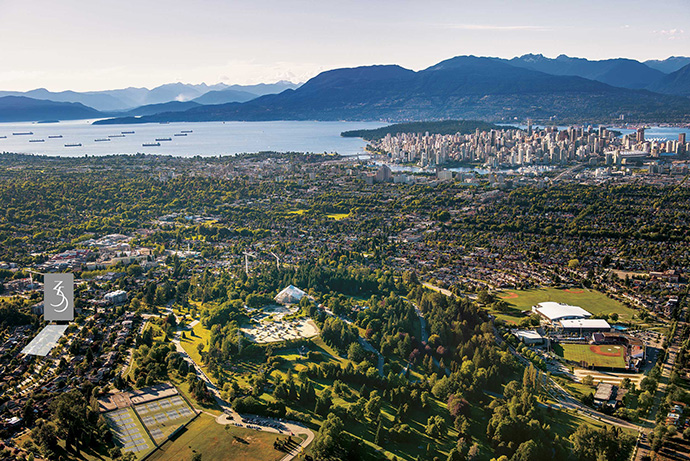Prime location awaits at the 35 Park West condos in West Side Vancouver.