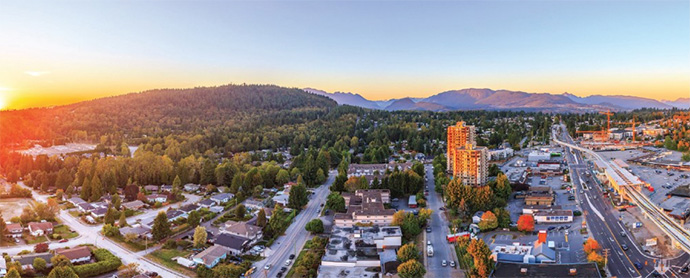 23 storey high-rise condo tower in West Coquitlam/Burnaby.