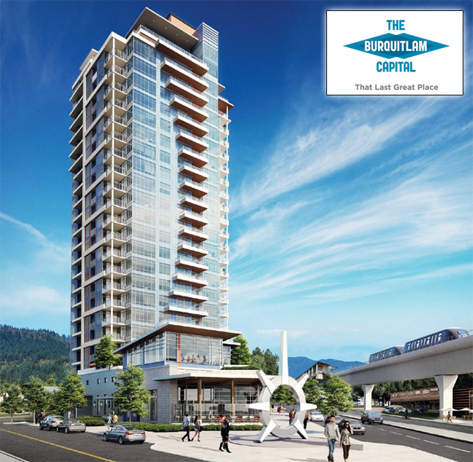 The Burquitlam Capital Coquitlam condo high-rise is this year's most exciting new Coquitlam real estate development.