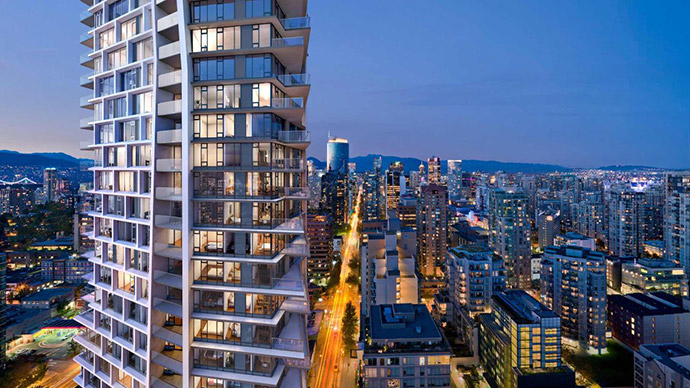 Beach District Vancouver condos for sale.