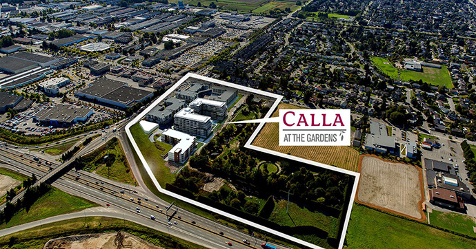 South Richmond real estate development at The Gardens launches its final phase of residential condos at Calla Richmond.