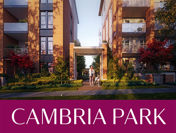Westside Vancouver CAMBRIA PARK by Mosaic Homes.