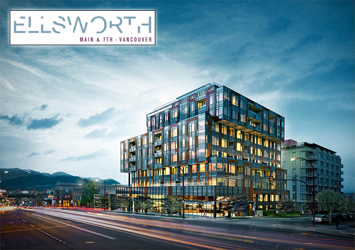 The Ellsworth Vancouver condos in Mount Pleasant by CHARD Developments.