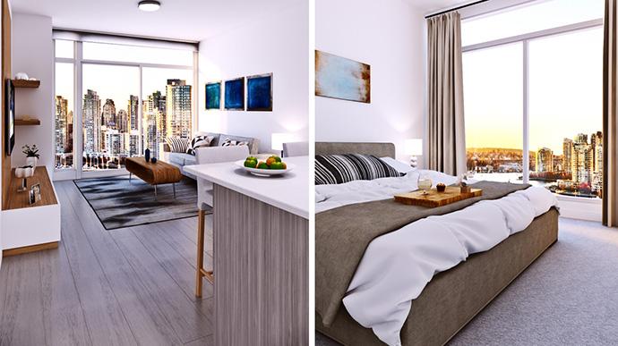 Beautifully designed interiors by Caroline Boisvert.