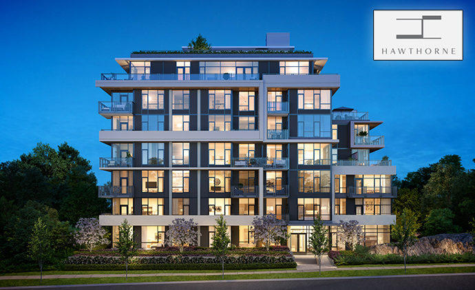 West Side Vancouver Hawthorne Condos by Pennyfarthing Homes.