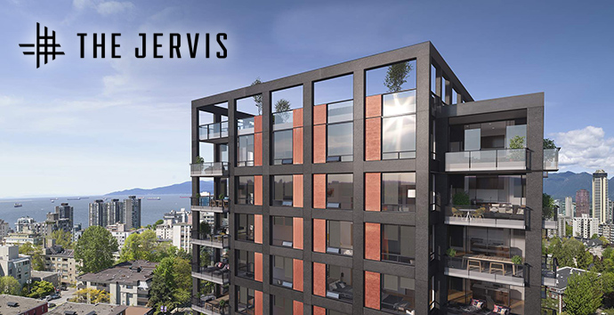The Jervis Vancouver West End condos for sale by Intracorp and Inform Interiors.