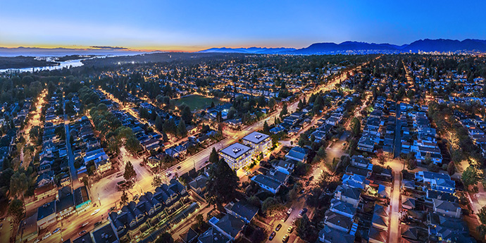 The South Vancouver Marpole real estate district.
