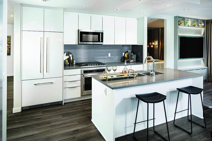 Kitchens at Mantyla by Polygon.