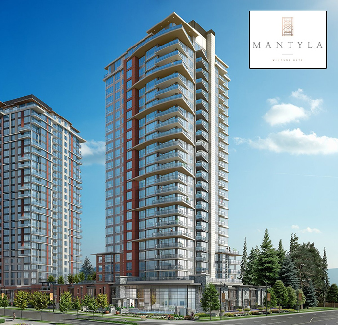Presale Coquitlam Mantyla at Windsor Gate by Polygon Homes.