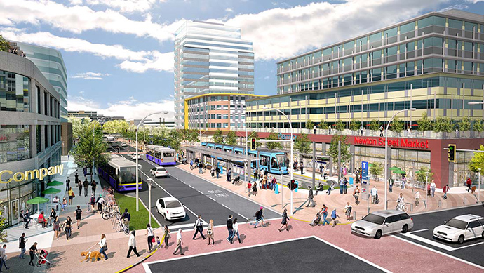 Proposed Surrey LRT System.