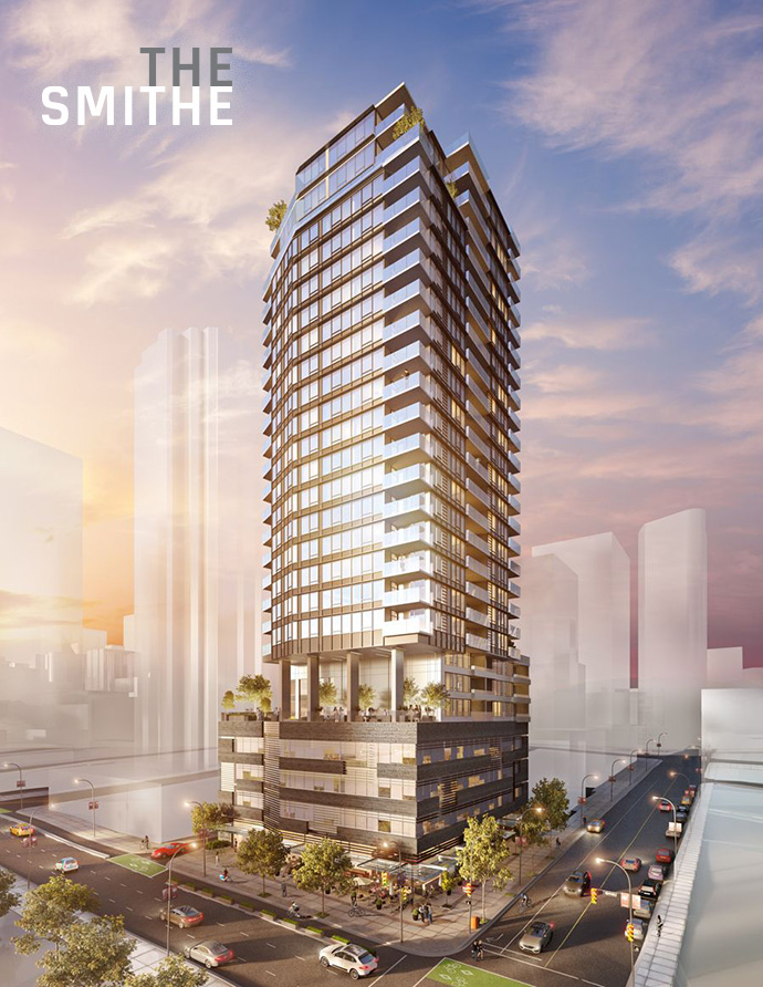 The Smithe Vancouver condos for sale.