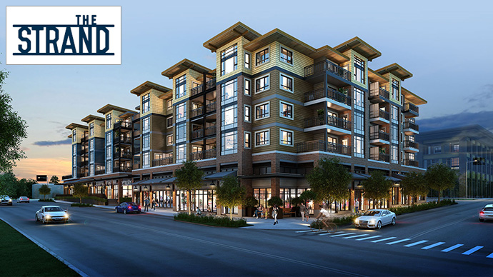Presale Port Moody Strand condos by Townline Group.