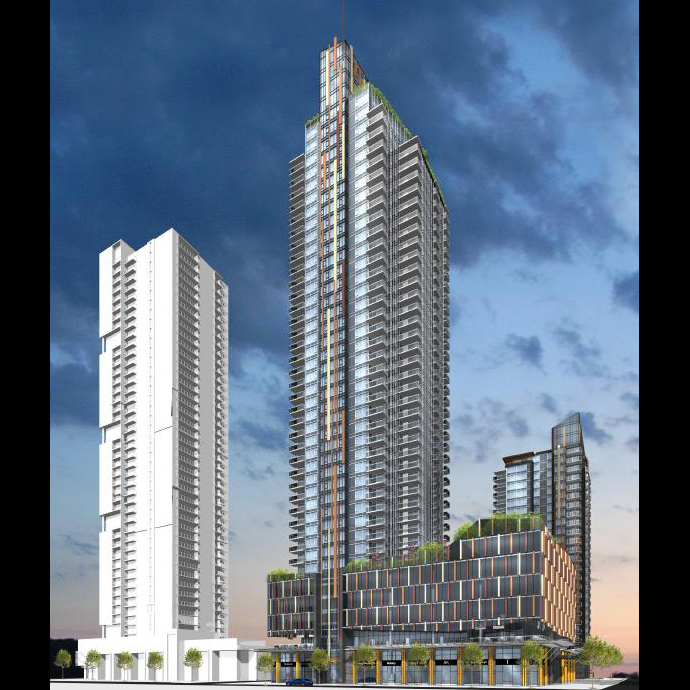 Sun Towers Burnaby by Belford Properties.