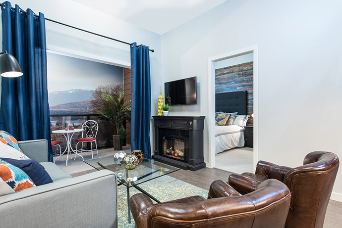 Large open Surrey Venue floor plans make these Whalley condos very flexible.
