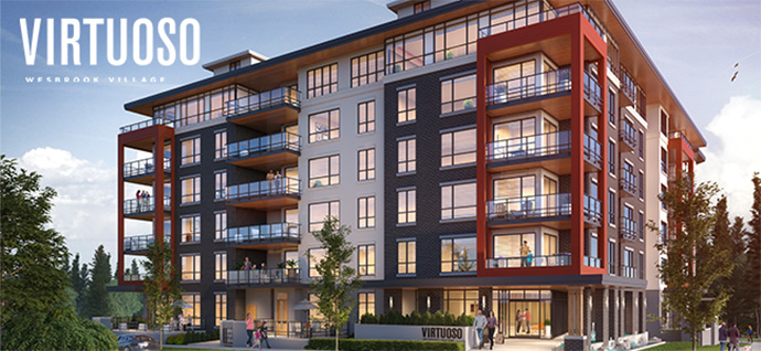 West Side Vancouver Virtuoso at Wesbrook Village condos for sale.