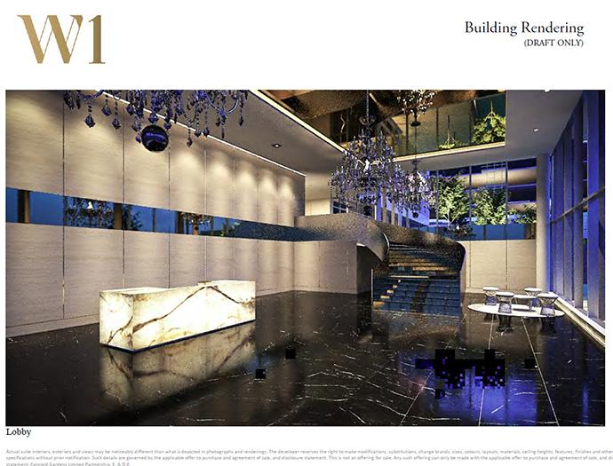 W1 lobby.