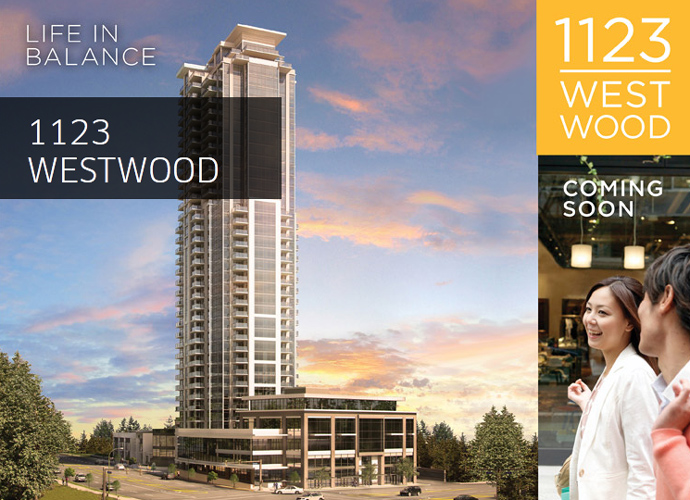 1123 Westwood Coquitlam Condo tower.