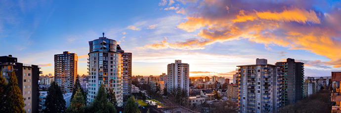 West End Vancouver refurbished condos at 1265 Barclay by Wall Financial