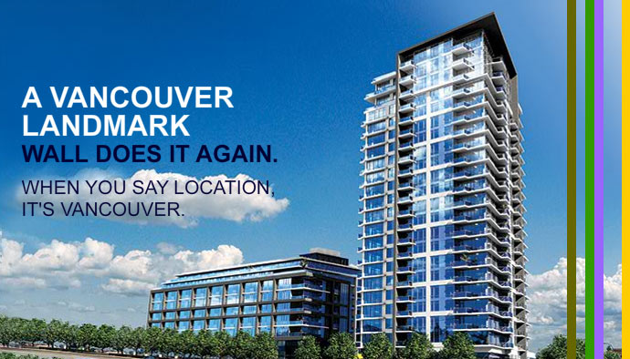 Render of the 2300 Kingsway East Vancouver apartments for sale by Rennie Marketing Systems