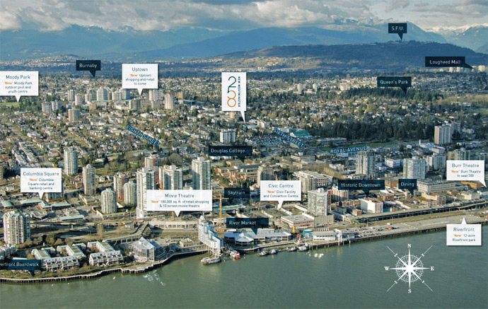 The 258 Condominiums are located on 6th Street New Westminster.