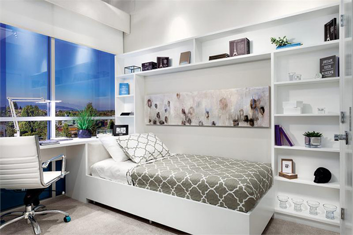 Beautiful and relaxing bedrooms.