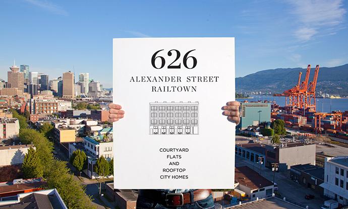 Ultra boutique Vancouver Railtown condo project.