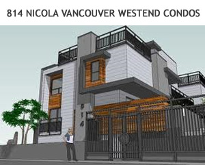 814 Nicola Vancouver West End Condos for sale.