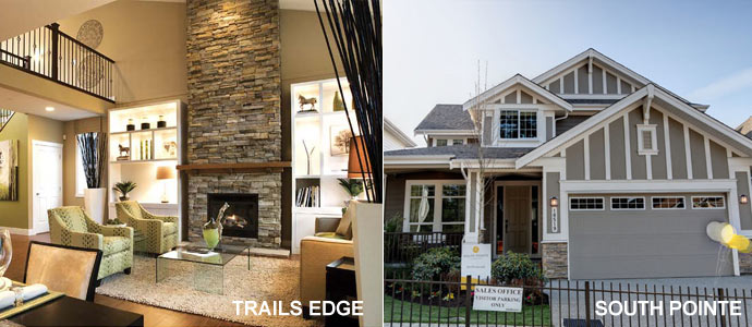 Maple Ridge homes showcased at this years' Spring 2010 Greater Vancouver Home Builders' Association Open House Event