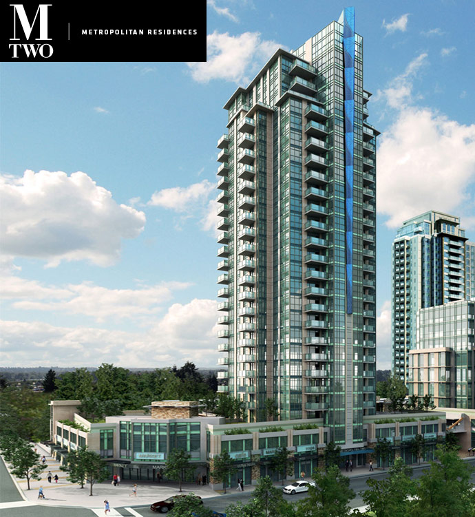 The Cressey MTwo Coquitlam condos for sale.