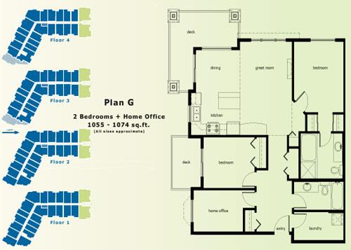 Abbotsford condo floor plans.