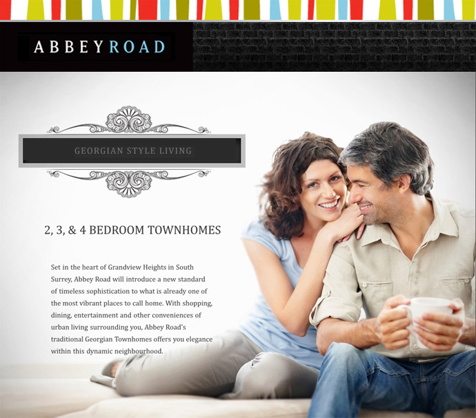 Abbey Road Townhomes in South Surrey real estate market