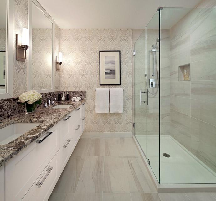 Spa inspired ensuite bathrooms.