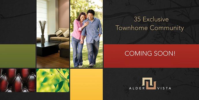 Alder Vista Richmond Townhomes for sale.