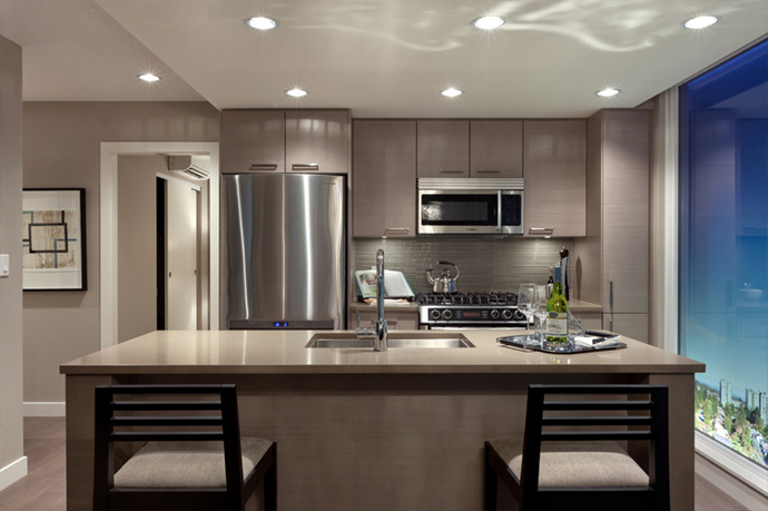 Magnificent kitchens designed by gourmet chefs at the luxury Richmond ALTIS condominium residences