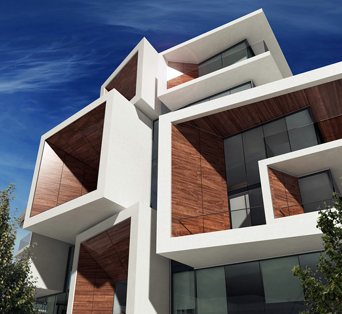 Another rendering of the truly unique Westside Vancouver Aperture condo development in the Oakridge real estate market.