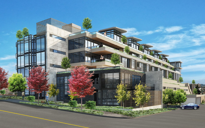 The Westside Vancouver Arbutus Ridge condos by Cressey Development