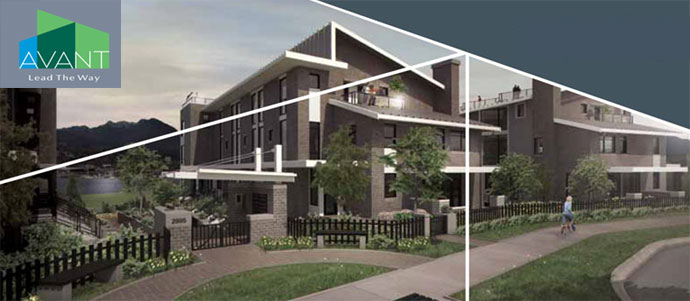 Waterfront Vancouver condos for sale at AVANT Apartments and Townhouses.