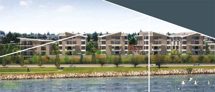 The presale waterview Vancouver AVANT by Aragon is a boutique collection of luxury condos and executive townhomes for sale.