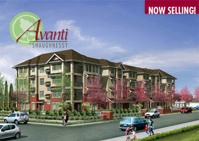 The new AVANTI Condos on Shaughnessy is a pre-construction Port Coquitlam real estate development that features affordable apartment homes.