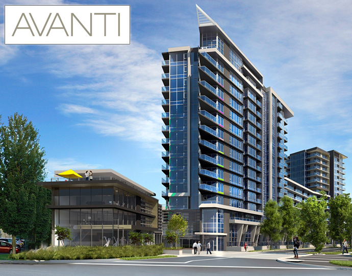 The Vancouver Condo Buzz » BRAND NEW Richmond AVANTI ...