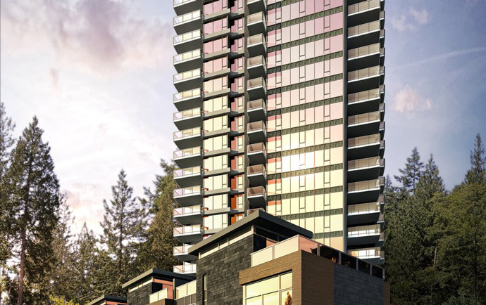 Binning Tower Vancouver Point Grey luxury condos for sale.