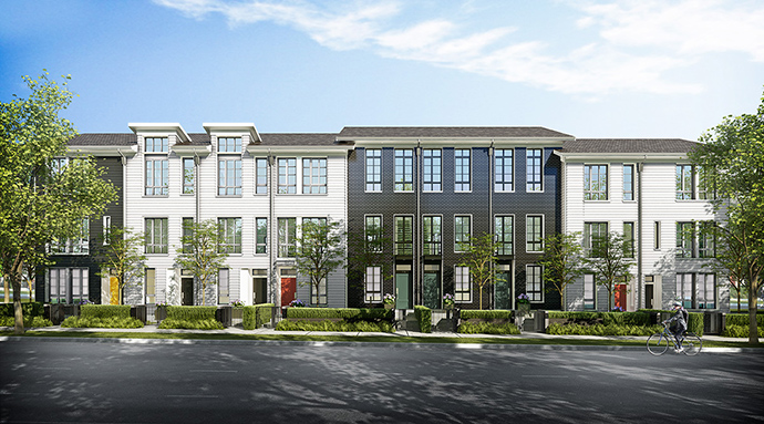 Burquitlam Black&Whites Rowhomes for Sale now previewing.