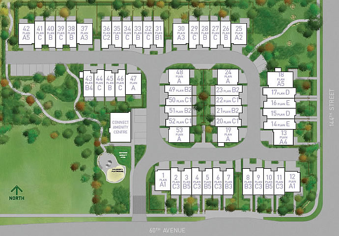 The Vancouver Condo Buzz 187 Vesta Properties Introduces The Blume Surrey Townhomes Located In The