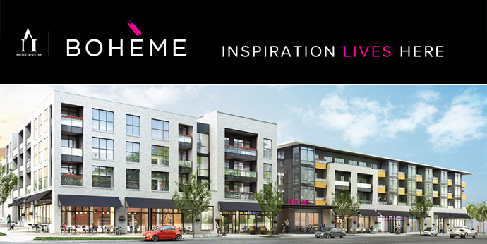 The pre-construction Vancouver Boheme by Millennium Development condo project at Commercial and Hastings is set to launch!