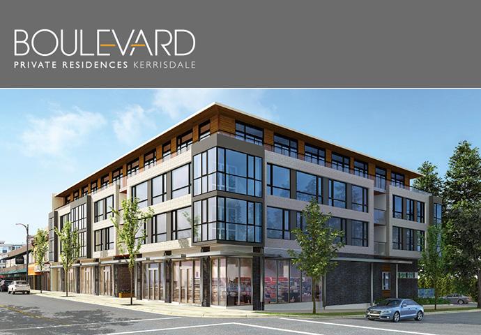 Boulevard Private Residences in Kerrisdale Vancouver Westside neighbourhood.