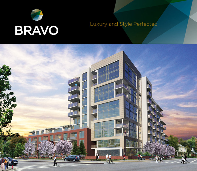 Downtown Richmond BRAVO condos by ATI Construction are now launching in April 2012