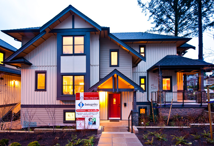 North Vancouver Built Green Platinum Homes.