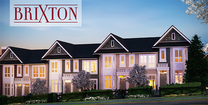 New Brixton Surrey Panorama townhomes for sale.