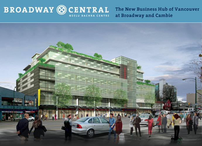 Broadway Central Vancouver Class A Office Space for Sale