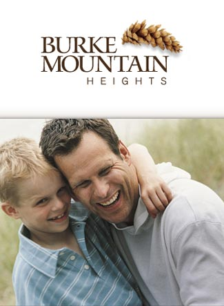 Phase II Burke Mountain Heights Coquitlam real estate development by Foxridge Homes, Qualico Group.